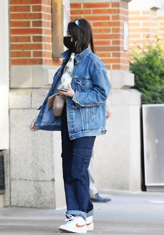 Kacey Musgraves in a Double Denim - Soho 03/25/2021