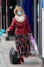 Kate Garraway - Arriving at the Global Studios in London 03/15/2021