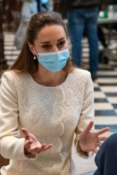 Kate Middleton - Visits COVID-19 Vaccination Centre at Westminster Abbey in London 03/23/2021