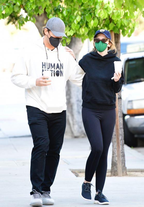 Katherine Schwarzenegger and Chris Pratt - Out in Brentwood 03/16/2021