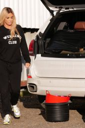 Katie Price at Her Local Equestrian Shop in London 03/06/2021