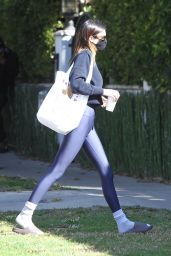 Kendall Jenner in Spandex - West Hollywood 02/27/2021