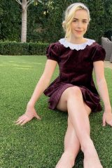 Kiernan Shipka in Golden Globes Dress From 10 Years Ago 02/28/2021