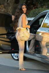Kim Kardashian - Arrives For a Business Meeting in LA 03/23/2021