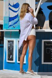 Kimberley Garner at Soho House in Miami Beach 02/28/2021