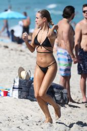Kimberley Garner in a Bikini on a Beach in Miami 03/24/2021