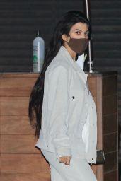 Kourtney Kardashian at Nobu in Malibu 03/08/2021