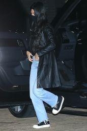 Kourtney Kardashian at Nobu Restaurant in Malibu 03/01/2021