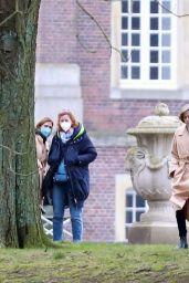 "Kristen Stewart - ""Spencer"" Set in Germany 03/06/2021"