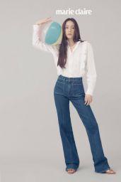 Krystal Jung in Polo Ralph Lauren - Photoshoot Marie Claire Magazine Korea April 2021