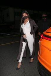 Kylie Jenner at Giorgio Baldi in Santa Monica 03/03/2021