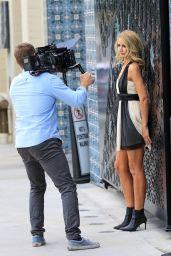 Lady Victoria Harvey is Stylish - Recording a TV Show at La Peer Hotel 03/25/2021