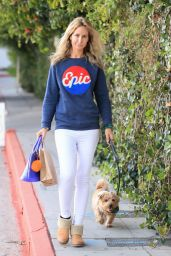 Lady Victoria Hervey Wears an Epic Sweater - Leaving The Chateau Marmont in LA 03/01/2021