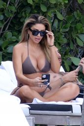 Larsa Pippen in a Bikini - Miami 03/13/2021