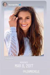 Lea Michele 03/10/2021