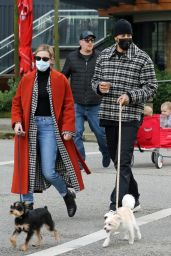 Lili Reinhart and Madelaine Petsch - Out in Vancouver 03/06/2021