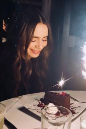 Lily Collins 03/19/2021