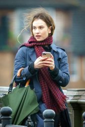 """Lily James - """"What"""