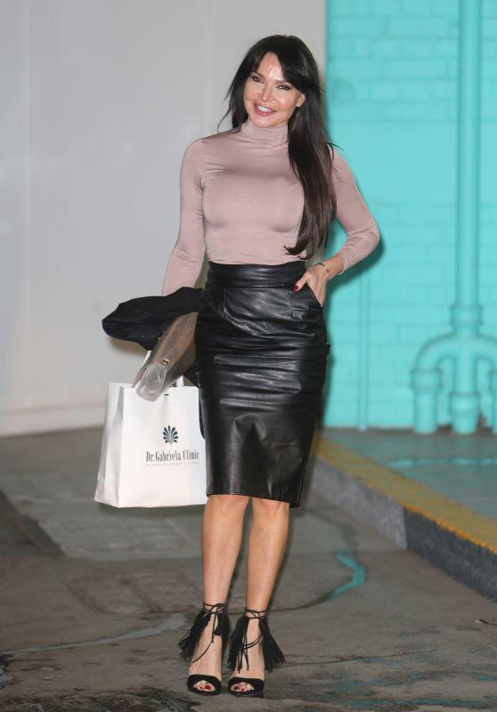 Lizzie Cundy - Outside ITV Studios in London 02/28/2021