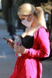 Lottie Moss Wearing Pretty Little Thing - Beverly Hills 03/02/2021