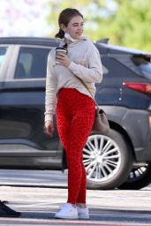 Lucy Hale in Tights - LA 03/28/2021