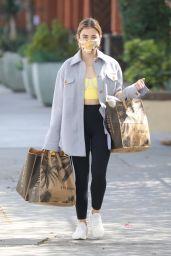 Lucy Hale - Leaving Erewhon Market in Los Angeles 03/09/2021