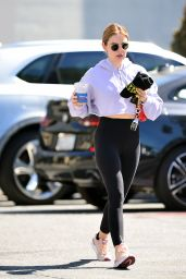 Lucy Hale - Out in West Hollywood 03/24/2021