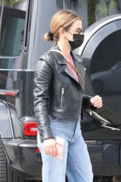 Lucy Hale - Shopping at a Clothing Store in LA 03/07/2021