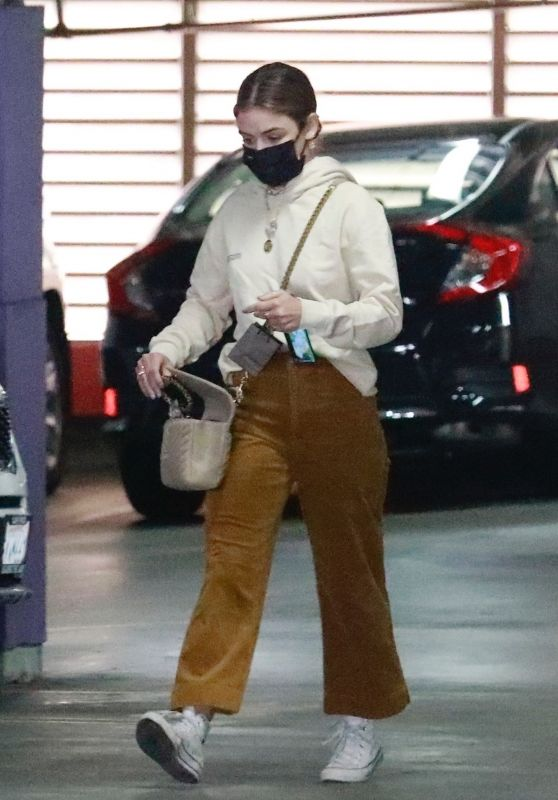 Lucy Hale - Shopping at a Jewelry Store in Downtown LA 03/15/2021