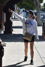 Lucy Hale - Shopping at American Rag Cie Clothing Store in LA 03/02/2021