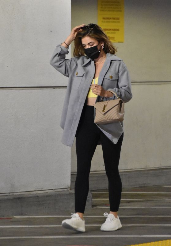 Lucy Hale - Shopping at Target in LA 03/09/2021