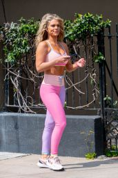 Madison LeCroy in Gym Ready Outfit - Miami 03/14/2021