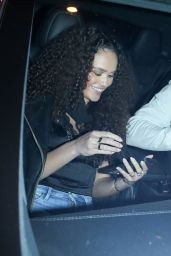 Madison Pettis Night Out in Los Angeles 03/27/2021