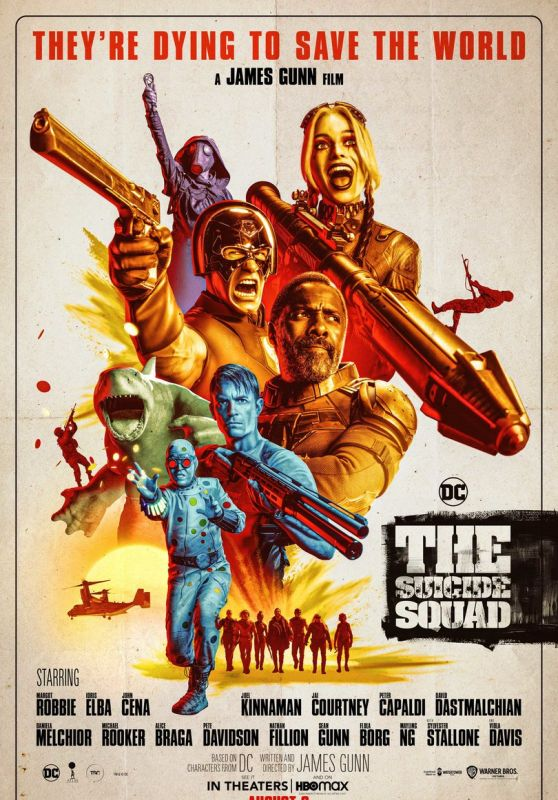 """Margot Robbie - """"The Suicide Squad"""" Poster"""