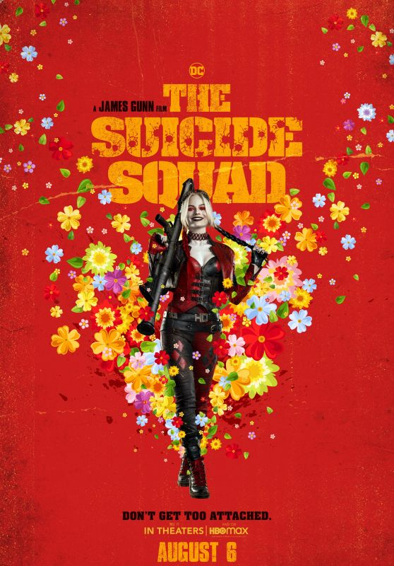 """Margot Robbie - """"The Suicide Squad"""" Poster and TV Spot"""