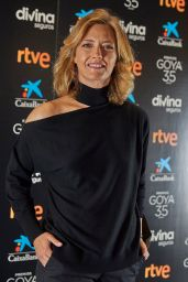 Maria Casado - Goya Cinema Awards Photocall in Madrid 02/02/2021