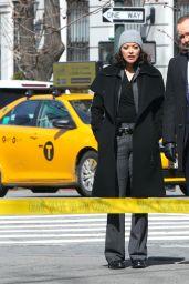 "Marisa Ramirez - ""Blue Bloods"" Filming Set in Manhattan 03/21/2021"