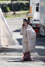 """Matilda De Angelis - """"Robbing Mussolini"""" Set in Rome 03/19/2021"""