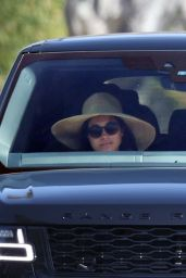 Meghan Markle - Driving in Santa Barbara 02/28/2021