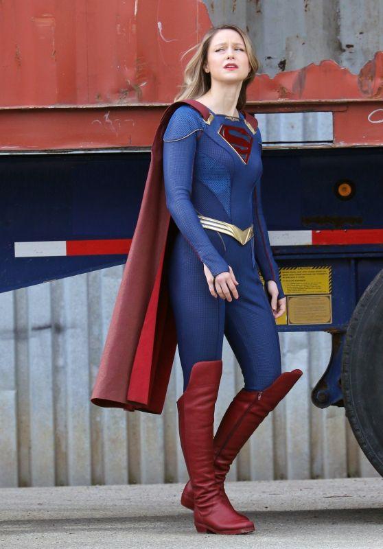 "Melissa Benoist - ""Supergirl"" Set in Vancouver 03/05/2021"