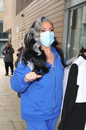 Michelle Visage - Arrives For an Appearance at the Steph
