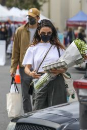 Mila Kunis at the Farmers Market in LA 03/07/2021
