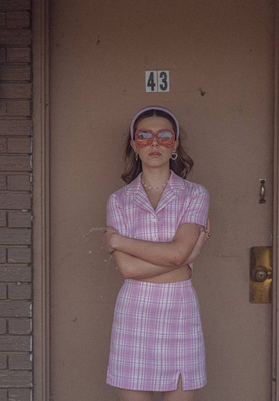 Millie Bobby Brown - Photoshoot March 2021