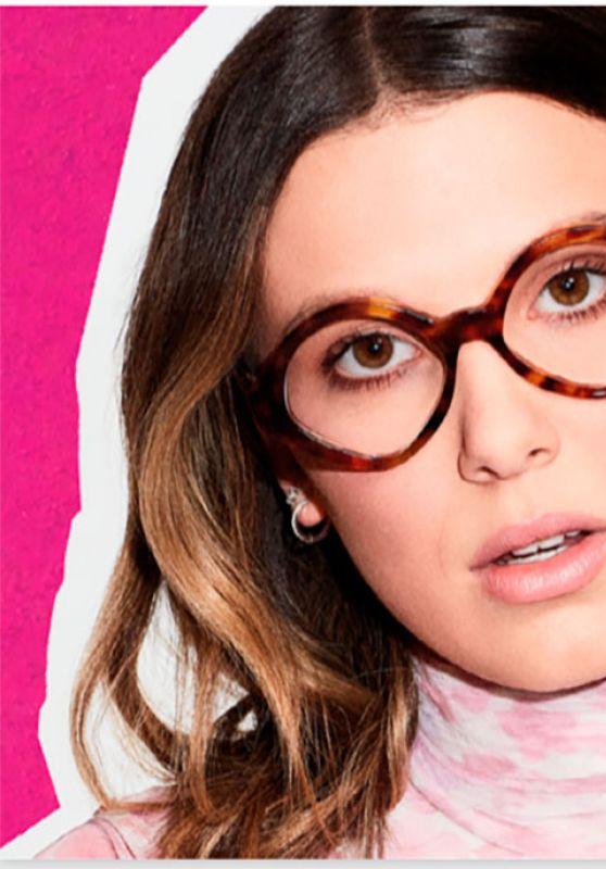 Millie Bobby Brown - Vogue Eyewear March 2021