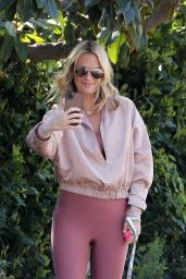 Molly Sims - Out in Pacific Palisades 03/18/2021