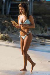 Montana Brown in Aqua Blue Bikini 03/10/2021