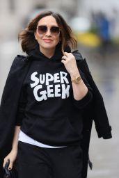 Myleene Klass Casually Chic Style - London 03/18/2021