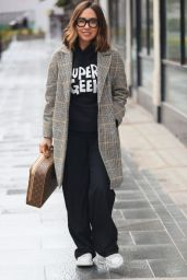 Myleene Klass in Casual Outfit in London 03/25/2021