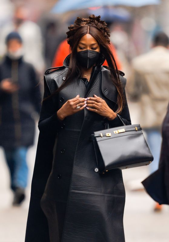Naomi Campbell - Cipriani in New York City 03/28/2021