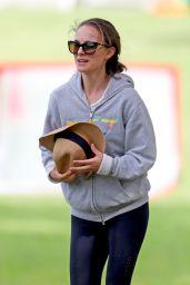 Natalie Portman at Her Kids Soccer Game - Sydney 03/02/2021
